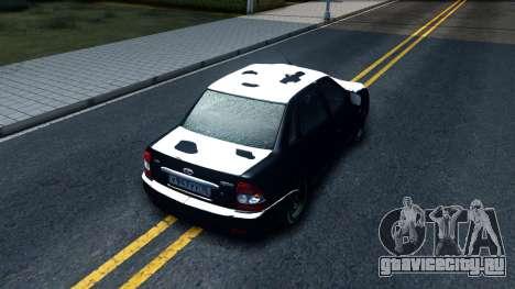 """ВАЗ 2170 """"Зима"""" для GTA San Andreas"""