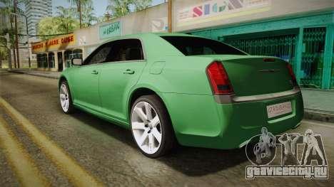Chrysler 300C 2012 для GTA San Andreas вид слева
