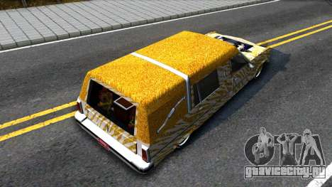 LoW RiDeR RoMeR0 для GTA San Andreas вид сзади