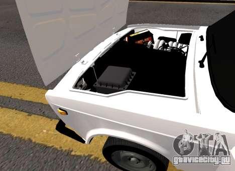 VAZ 2107 AZELOW для GTA 4 вид изнутри
