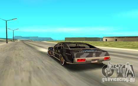 Ken Block Clover 2 для GTA San Andreas вид слева