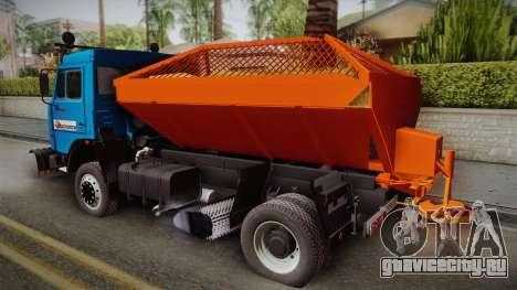 КамАЗ 43253 КО-806 для GTA San Andreas