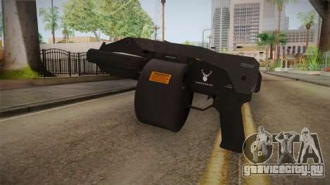 Bikers DLC Sweeper Shotgun для GTA San Andreas второй скриншот