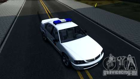 Declasse Merit Hometown Police Department 2004 для GTA San Andreas вид справа
