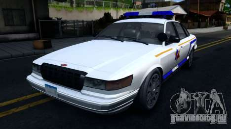 Vapid Stanier Hometown Police Department 2004 для GTA San Andreas