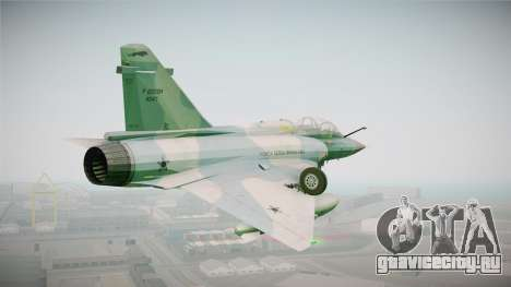 EMB Dassault Mirage 2000-N FAB для GTA San Andreas вид справа