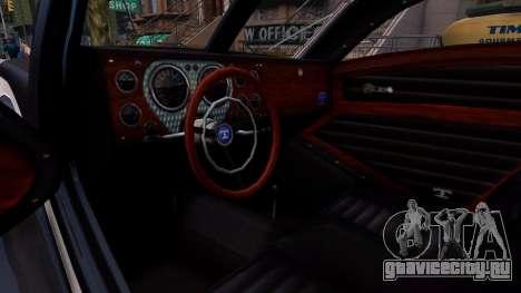 Truffade Z-Type для GTA 4 вид изнутри