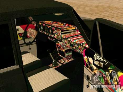 Москвич 2140 БПAN для GTA San Andreas вид сверху