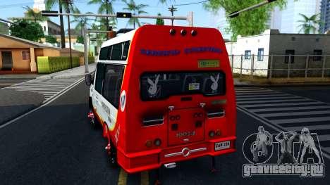 Iveco Turbo Daily V2 для GTA San Andreas вид сзади слева