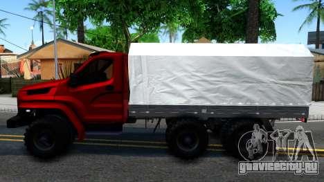 Ural Next для GTA San Andreas вид слева