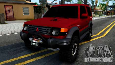 Mitsubishi Pajero Off-Road 3 Door для GTA San Andreas