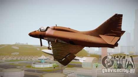 EMB McDonnell Douglas A-4M Skyhawk для GTA San Andreas вид слева