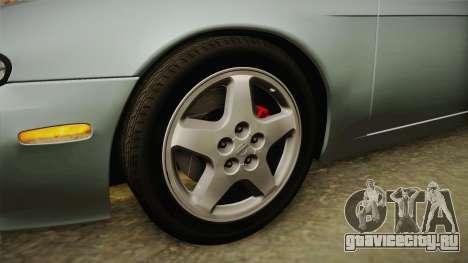 Nissan Silvia S14 KS 1994 Stock для GTA San Andreas вид сзади