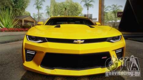Chevrolet Camaro SS 2017 для GTA San Andreas вид сбоку