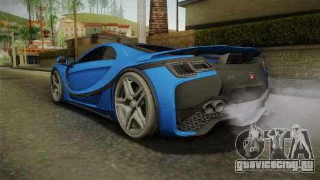 Spania GTA Spano 2016 для GTA San Andreas вид сзади слева