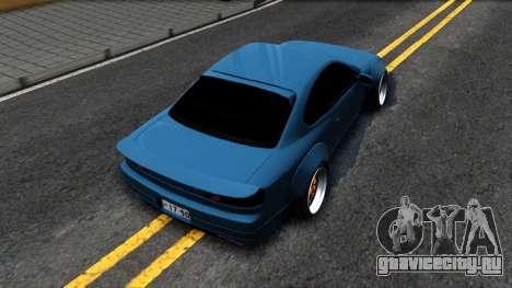 Nissan Silvia S15 326 Rocket Bunny для GTA San Andreas вид сзади
