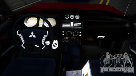 Mitsubishi Pajero Off-Road 3 Door для GTA San Andreas вид изнутри