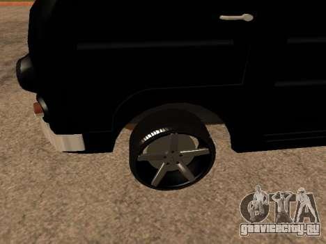 Eraz 762 Armenian для GTA San Andreas салон
