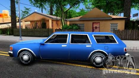 Premier Wagon для GTA San Andreas вид слева