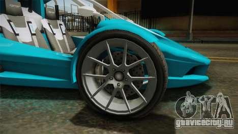 GTA 5 BF Raptor IVF для GTA San Andreas вид сзади
