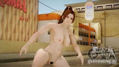 Dead or Alive 5 LR - Mai Shiranui Nude v1 для GTA San Andreas