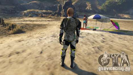 Desalle 25 (Motox Ped) для GTA 5 третий скриншот