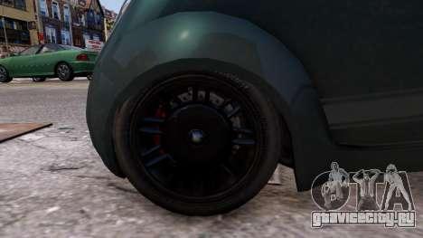Grotti Brioso Sport для GTA 4 вид сзади