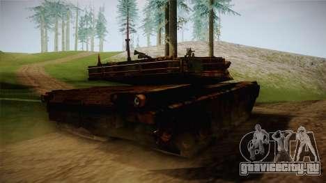 Abrams of Hell Rusty для GTA San Andreas вид справа