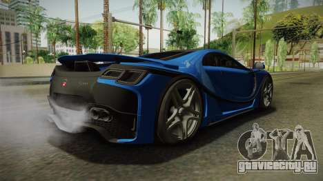 Spania GTA Spano 2016 для GTA San Andreas вид слева