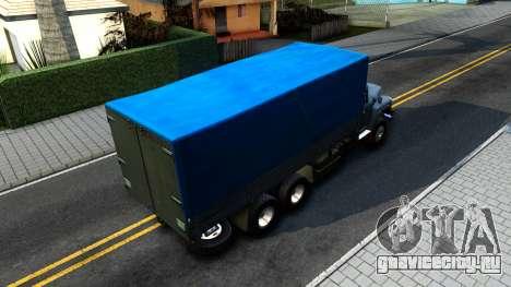 ЗиЛ 133ГЯ v2.0 для GTA San Andreas вид сзади