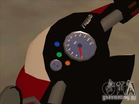 GTA IV Faggio для GTA San Andreas вид справа