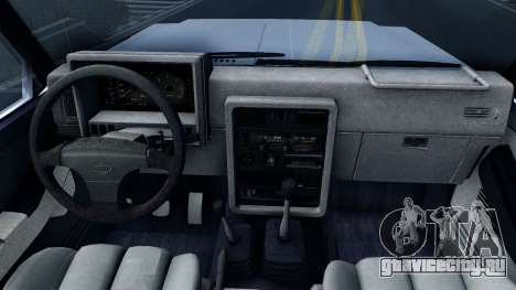 Nissan Patrol Y60 для GTA San Andreas вид изнутри