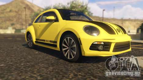 Limited Edition VW Beetle GSR 2012 для GTA 5