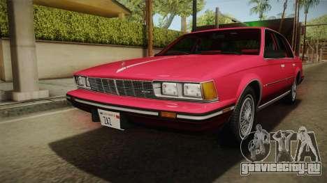 Buick Century 1986 для GTA San Andreas