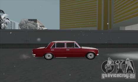 ВАЗ 2101 Снежная версия для GTA San Andreas вид слева