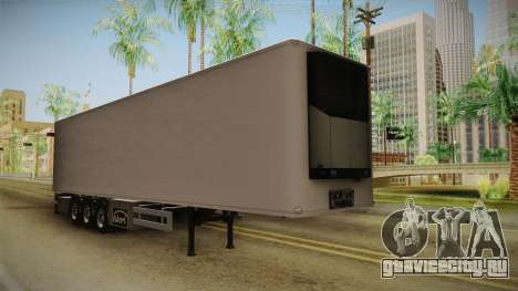 Ekeri Trailer v1 для GTA San Andreas вид справа