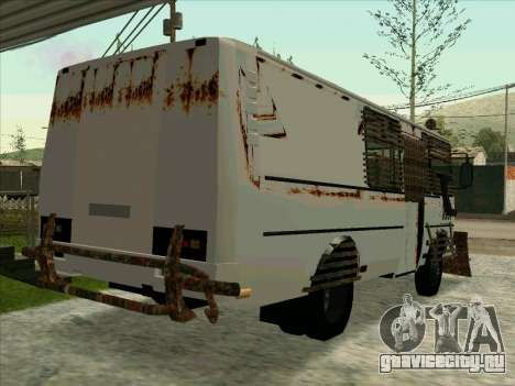 PAZ-32053 For the zombie Apocalypse для GTA San Andreas вид сверху