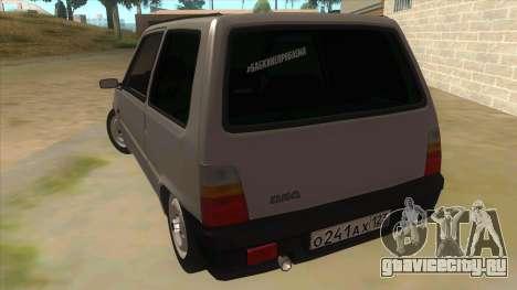 ВАЗ 1111 для GTA San Andreas вид сзади слева