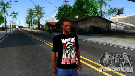 Nike Air Jordan S.O.M. Do You Know T-Shirt Black для GTA San Andreas второй скриншот
