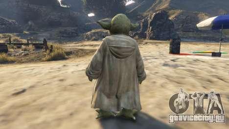 Star Wars Yoda для GTA 5 третий скриншот