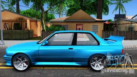 BMW M3 E30 для GTA San Andreas вид слева