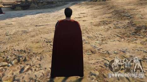 BVS Superman для GTA 5 третий скриншот