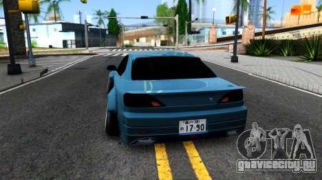 Nissan Silvia S15 326 Rocket Bunny для GTA San Andreas вид сзади слева