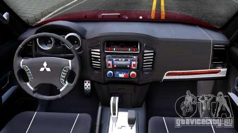 Mitsubishi Pajero IV для GTA San Andreas вид изнутри