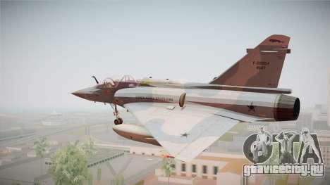 EMB Dassault Mirage 2000-N FAB для GTA San Andreas вид слева