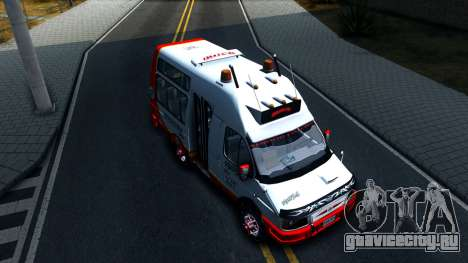 Iveco Turbo Daily V2 для GTA San Andreas вид справа