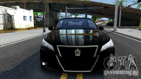 Toyota Crown Hybrid Athlete 2013 для GTA San Andreas