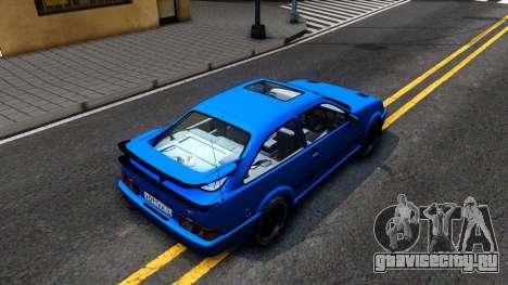 Ford Sierra RS500 Cosworth для GTA San Andreas вид сзади