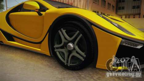 Spania GTA Spano 2016 для GTA San Andreas