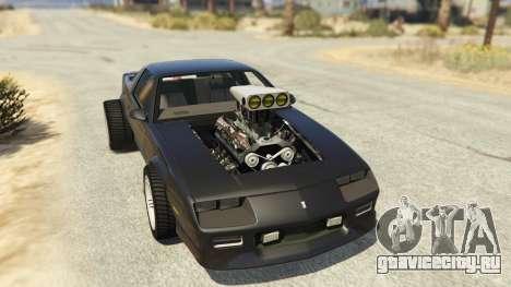 IROC-Z Big V8 Drag Car для GTA 5